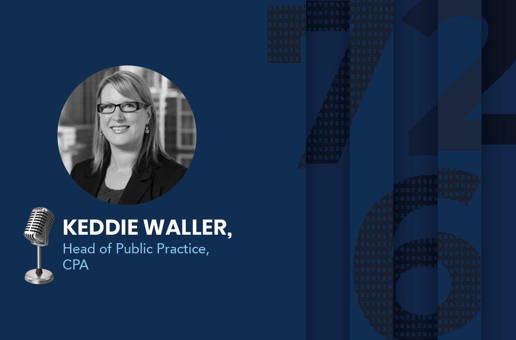 Keddie Waller, the Head of Public Practice at CPA Australia