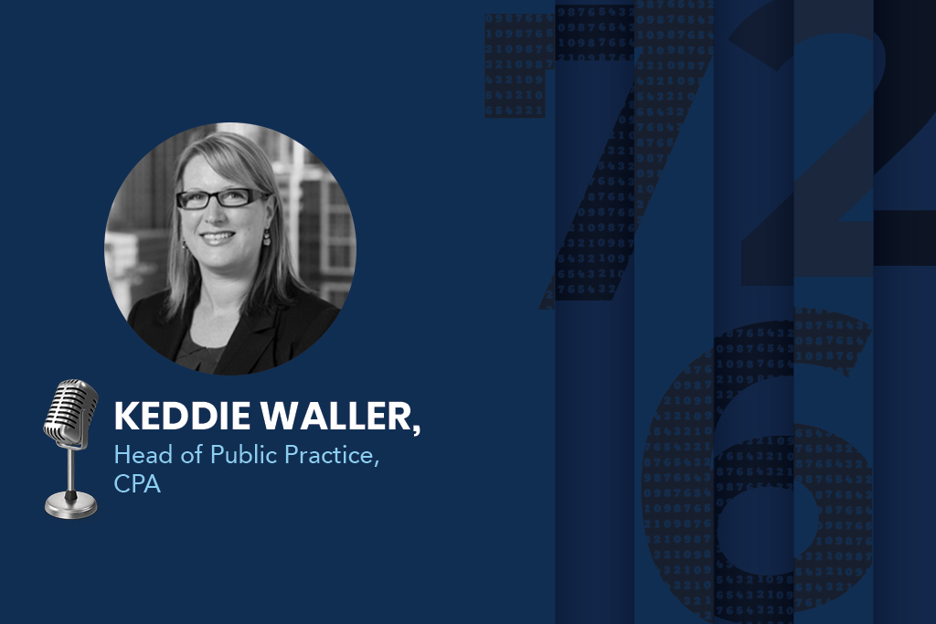Keddie Waller, the Head of Public Practice at CPA Australia