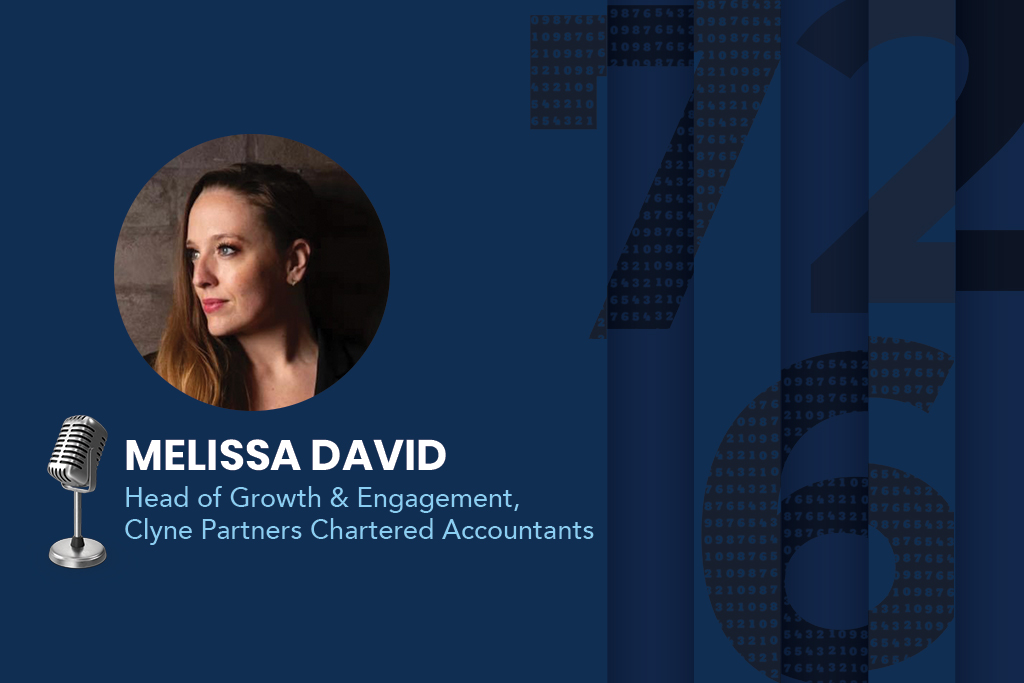 Melissa David, Head of Growth & Engagement at Clyne Partners Chartered Accountants