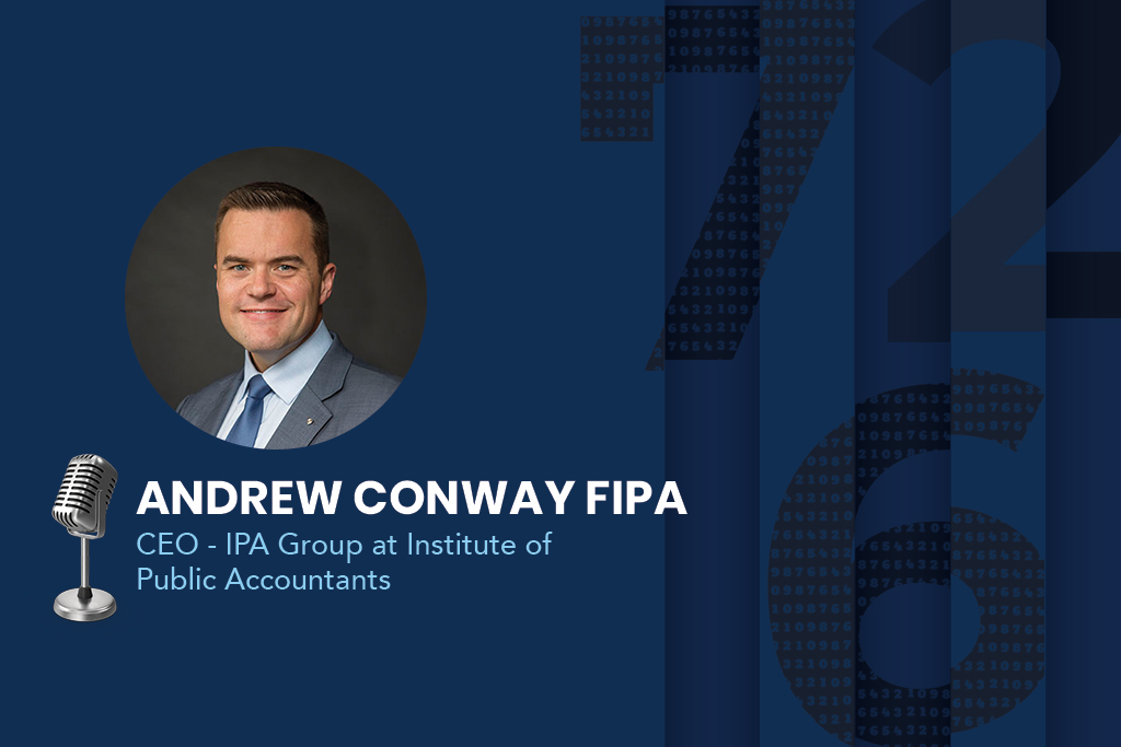 Andrew Conway, the CEO of the Institute of Public Accountants (IPA),